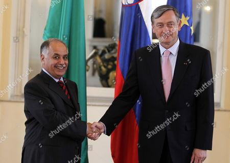 Editorial image of Slovenia Libya Prime Minister Mahmudi Visits - May 2009