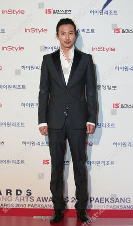 South Korean Actor Kim Nam-gil Arrives at the 46th Annual Baeksang Art Awards at the National Theater in Seoul South Korea 26 March 2010 Kim Nam-gil Performed in the Movie 'Modern Boy' by Ji-woo Jung Korea, Republic of Seoul