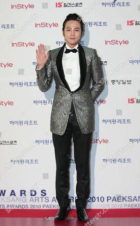 South Korean Actor Jang Keun-suk Arrives at the 46th Annual Baeksang Art Awards at the National Theater in Seoul South Korea 26 March 2010 Jang Keun-suk Performed in the Movie 'The Case of Itaewon Homicide' Korea, Republic of Seoul