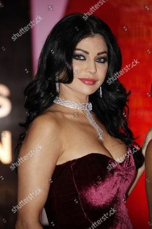 Lebanese Actress and Singer Haifa Wehbe Attends the Opening of the Damascus International Film Festival at Al-assad House For Culture and Arts in Damascus Syria 07 November 2010 a Arab and International Directors and Actors Will Be Honored During the Week-long Event More Than 300 Short and Long Films From 46 Countries Will Be Screened the Festival was First Launched in 1979 Under the Title of Cinema For Progress and Liberation Syrian Arab Republic Damascus