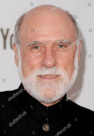 Computer Scientist Vinton Cerf of the Us who is Credited with Helping to Invent the Internet Arrives For the 14th Annual Webby Awards Which Honor Excellence on the Internet in New York New York Usa on 14 June 2010 United States New York