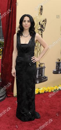 Us Director Rebecca Cammisa Arrives on the Red Carpet For the 82nd Academy Awards at the Kodak Theatre in Hollywood California Usa 07 March 2010 the Academy Awards Honor Excellence in Cinema United States Hollywood