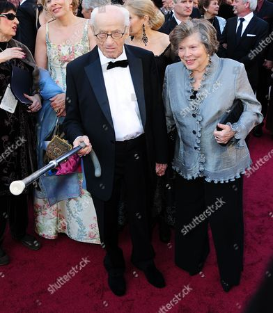 Stock Picture of Us Actor Eli Wallach (l) Arrives For the 83rd Annual Academy Awards at the Kodak Theatre in Hollywood California Usa 27 February 2011 the Oscars Are Presented For Outstanding Individual Or Collective Efforts in Up to 25 Categories in Filmmaking United States Hollywood