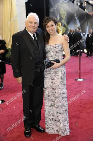 British-american Screen Writer David Seidler (l) and Guest Arrive For the 83rd Annual Academy Awards at the Kodak Theatre in Hollywood California Usa 27 February 2011 the Oscars Are Presented For Outstanding Individual Or Collective Efforts in Up to 25 Categories in Filmmaking United States Hollywood