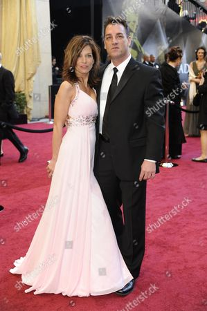 Stock Photo of Us Producer Keith Dorrington and Wife Karen Rose Arrives For the 83rd Annual Academy Awards at the Kodak Theatre in Hollywood California Usa 27 February 2011 the Oscars Are Presented For Outstanding Individual Or Collective Efforts in Up to 25 Categories in Filmmaking United States Hollywood