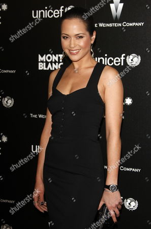 German Actress Ankie Beilke Arrives at the Montblanc Charity Cocktail Hosted by the Weinstein Company to Benefit Unicef Held at Soho House in Los Angeles California Usa 06 March 2010 This Pre-oscar Party is One of the Most Popular Events the Night Before the Academy Awards Ceremony and Celebrities Line Up For 45 Minutes Just to Get Into the Party United States Los Angeles