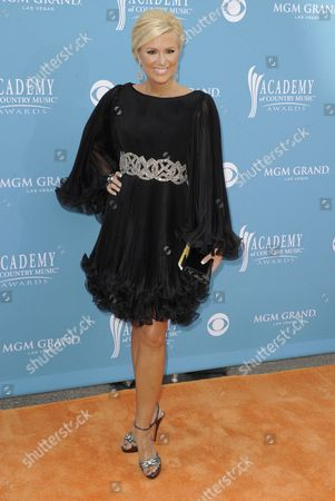 Us Tv Personality Allison Demarcus Arrives at the 45th Annual Academy of Country Music Awards in Las Vegas Nevada Usa 18 April 2010 the Academy of Country Music Awards Honor Excellence in Country Music United States Las Vegas