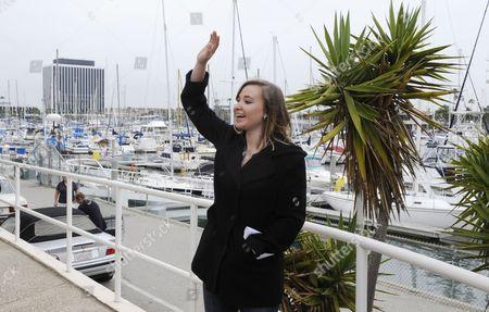 Editorial photo of Usa Accident Sailing Abby Sunderland - Jun 2010