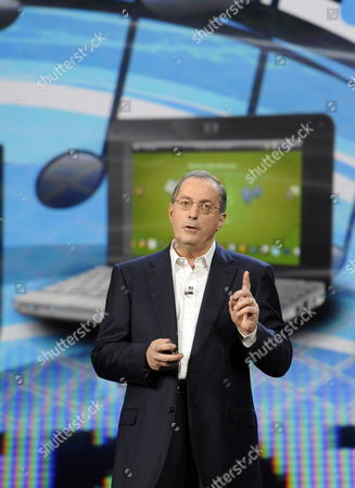 Stock Picture of Paul S Otellini President and Chief Executive Officer of Intel Corporation Gives a Keynote Speech at the 2010 Consumer Electronics Show (ces) in Las Vegas Nevada Usa 07 January 2010 Ces Runs From January 7-10 United States Las Vegas