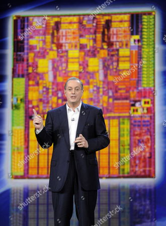Paul S Otellini President and Chief Executive Officer of Intel Corporation Gives a Keynote Speech at the 2010 Consumer Electronics Show (ces) in Las Vegas Nevada Usa 07 January 2010 Ces Runs From January 7-10 United States Las Vegas