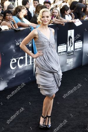 Us Actress Jamie King Arrives at the Usa/la Premiere of 'The Twilight Saga: Eclipse' Held at the Nokia Theater at La Live in Los Angeles California Usa 24 June 2010 the Movie by British Director David Slade is the Third Installment in the Twilight Series and Will Be Released in the Us on 24 June United States Los Angeles