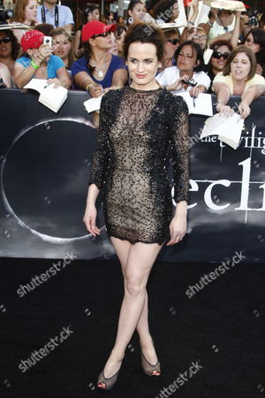 Us Actress/cast Member Elizabeth Reaser Arrives at the Usa/la Premiere of 'The Twilight Saga: Eclipse' Held at the Nokia Theater at La Live in Los Angeles California Usa 24 June 2010 the Movie by British Director David Slade is the Third Installment in the Twilight Series and Will Be Released in the Us on 24 June United States Los Angeles