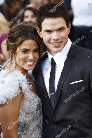 Us Actors/cast Members Kellan Lutz and Nikki Reed Arrive at the Usa/la Premiere of 'The Twilight Saga: Eclipse' Held at the Nokia Theater at La Live in Los Angeles California Usa 24 June 2010 the Movie by British Director David Slade is the Third Installment in the Twilight Series and Will Be Released in the Us on 24 June United States Los Angeles