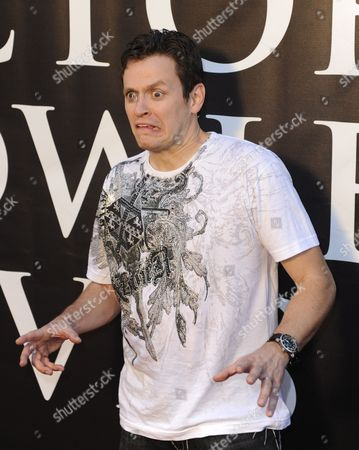 Us Actor Tom Malloy From the Alphabet Killer Makes a Scary Face As He Arrives For the Premiere of the Horror Movie Hatchet Ii at the Egyptian Theatre in Hollywood California Usa 28 September 2010 Hatchet Ii is a Slasher Film Directed Written and Produced by Adam Green and Takes Place in the Louisiana Bayou Hatchet Ii is Unrated Horror Movie with Extreme Violence United States Hollywood