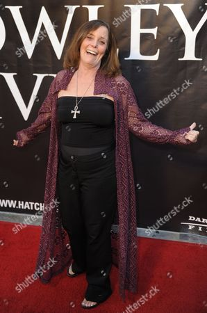 Stock Image of Us Actress Eileen Dietz From the Movie Horror Classic 'The Exorcist' Arrives For the Premiere of the Horror Movie Hatchet Ii at the Egyptian Theatre in Hollywood California Usa 28 September 2010 Hatchet Ii is a Slasher Film Directed Written and Produced by Adam Green and Takes Place in the Louisiana Bayou Hatchet Ii is Unrated Horror Movie with Extreme Violence United States Hollywood
