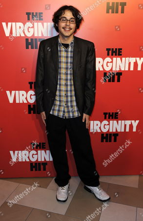 Stock Image of Us Actor and Cast Member Justin Kline Arrives For a Special Screening of 'The Virginity Hit' in Los Angeles California Usa 07 September 2010 'The Virginity Hit' is the Story of Four Guys with a Camera Chronicilling Their Experience of Losing Their Virginity United States Los Angeles