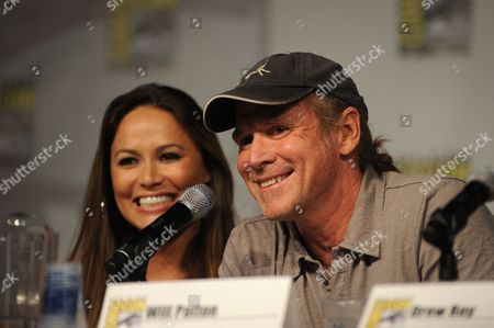 Will Patton an Actor in the Tnt Drama Series Falling Skies Talks During a Screening and Panel Discussion on the Second Day of Comic-con 2011 in San Diego California Usa on 22 July 2011 United States San Diego