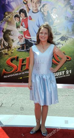 Us Actress and Cast Member Jolie Vanier Arrives For the Los Angeles Premiere of 'Shorts' at the Chinese Theatre in Los Angeles California Usa 15 August 2009 Vanier Plays the Role of 'Helvetica Black' in This Family Action-adventure United States Los Angeles