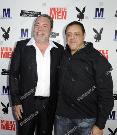 Us Director George Gallo (l) and Us Producer Christopher Mallick (r) Arrive For the Los Angeles Premiere of 'Middle Men' in Hollywood California Usa 05 August 2010 'Middle Men' is Inspired by a True Story of How Three Men Invented the Way That Adult Entertainment is Sold Over the Internet United States Hollywood