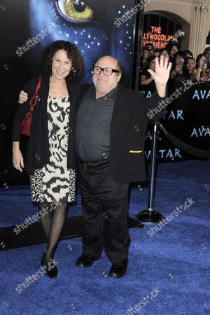 Stock Picture of Us Actors Rhea Pearlman (l) and Her Husband Danny Devito (r) Arrive For the 'Avatar' Premiere at Mann's Grauman Chinese Theater in Los Angeles California Usa 16 December 2009 'Avater' is the Story of a Reluctant Hero Who Battles to Save a Civilization