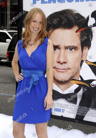 Us Actress and Cast Member Pepper Binkley Arrives For the Premiere of 'Mr Popper's Penguins' in Los Angeles California Usa 12 June 2011 'Mr Popper's Penguins' is a Live Action Family Comedy About a Family who Inherits Six Mischievous Penguins United States Los Angeles