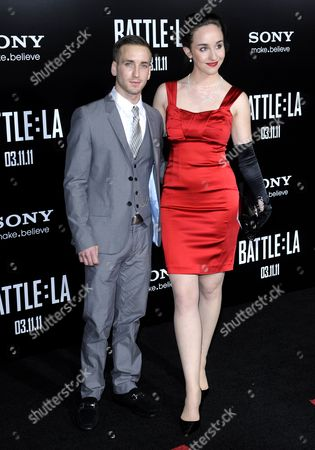 Us Actor and Cast Member Will Rothhaar (l) and Guest Arrive For the 'Battle: Los Angeles' Premiere in Los Angeles California Usa 08 March 2011 the Film Hits British and American Theatres on 11 March 2011 United States Los Angeles
