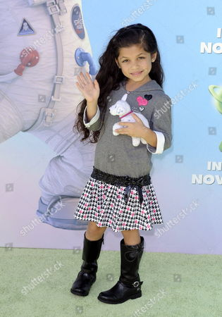 Stock Picture of Us Actress Jasmine Alveran Arrives For the Premiere of 'Planet 51' in Los Angeles California Usa 14 November 2009 'Planet 51' is an Animated Alien Adventure Comedy United States Los Angeles