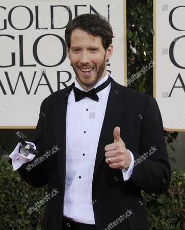 Us Mountain Climber Aron Ralston Whose Real Life Experience is Portrayed in the Movie '127 Hours' Arrives For the 68th Golden Globe Awards Held at the Beverly Hilton Hotel in Los Angeles California Usa 16 January 2011 United States Beverly Hills