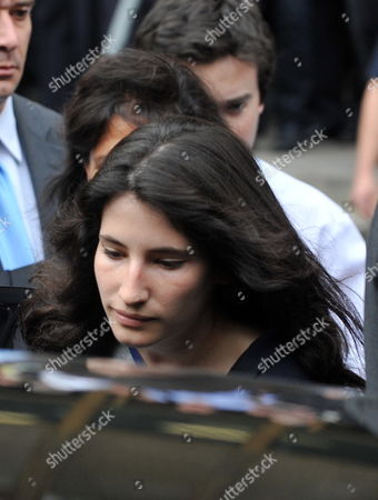 Stock Picture of Former Head of the International Money Fund Dominique Strauss-khan's Daughter Camille Strauss-kahn Leave's Manhattan Criminal Court 19 May 2011 in New York Strauss-kahn the Former Head of the International Money Fund Faced Arraignment 19 May on Charges of Attempted Rape and Criminal Sexual Contact in the Alleged Attack on a Maid who Went Into His Penthouse Suite at a Hotel Near Times Square on Saturday United States New York