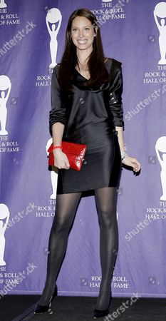 Us Model Christy Turlington Appears in the Press Room During the Rock and Roll Hall of Fame Induction Ceremony in New York New York Usa On 10 March 2008 During the Ceremony Madonna John Mellencamp Leonard Cohen the Dave Clark Five and the Ventures Were Inducted Into the Musical Institution Which is Located in Cleveland Ohio