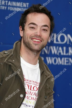 Us Actor John Hensley Arrives at the 15th Annual Eif Revlon Run/ Walk For Women in Los Angeles California 09 May 2008 the Actors Attend to Show Their Support to Raise Funds For Women's Cancer Research