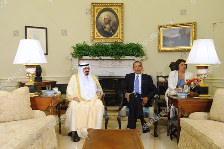 Editorial photo of Usa Saudi Arabia King Abdullah Visit - Jun 2010