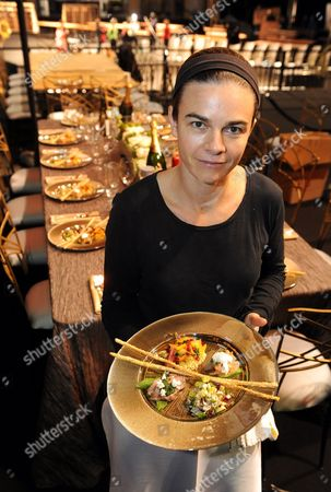 Chef Suzanne Goin Poses For with Food She Will Be Preparing For The16th Annual Screen Actors Guild Awards at the Shrine Auditorium in Los Angeles California Usa 21 January 2010 the Screen Actors Guild Awards Honor Outstanding Performance in Five Film and Eight Television Categories the Guild is the Nation's Largest Labor Union Representing Working Actors the Awards Ceremony Will Take Place on 23 January United States Los Angeles