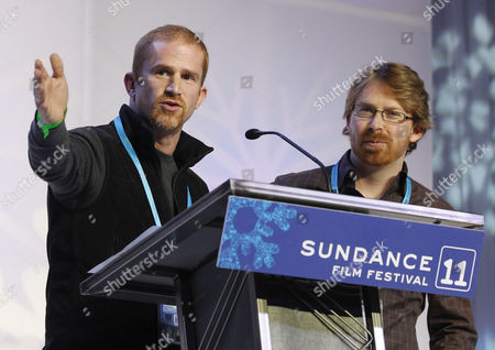 Usa Cinema Photographers Eric Strauss (l) and Peter Hutchens (r) Accepts the Excellence in Cinematography Award Documentary For the Film 'The Redemption of General Butt Naked' at the Awards Night at the 2011 Sundance Film Festival in Park City Utah Usa 29 January 2011 the Festival Has Been Running the Last 10 Day in Park City Utah United States Park City