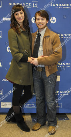 Actor Lou Taylor Pucci (r) and is Girlfriend Hannah Foster (l) Pose For a Picture Before the Premier of 'The Music Never Stopped' During the 2011 Sundance Film Festival in Park City Utah Usa 22 January 2011 the Movie by Director Jim Kohlberg is One of the Premier Movies at the Festival Running From 20 to 30 January United States Park City