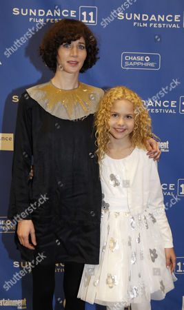 Director/actress Miranda July (l) and Atress Isabella Acres (r) Arrives For the Premier of the German Movie 'The Future' During the 2011 Sundance Film Festival in Park City Utah Usa 21 January 2011 the Movie by German Director Miranda July is One of the Premier Movies at the Festival Running From 20 to 30 January United States Park City