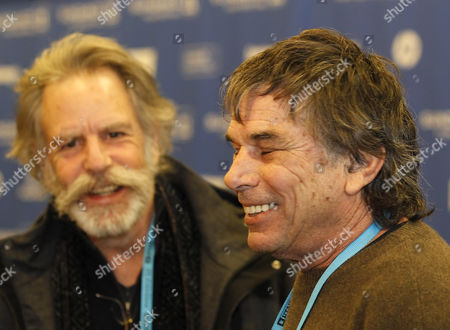 Mickey Hart (r) and Bob Weir (l) of the Grateful Dead Talk to the Press Before the Premier of 'The Music Never Stopped' During the 2011 Sundance Film Festival in Park City Utah Usa 22 January 2011 the Movie by Director Jim Kohlberg is One of the Premier Movies at the Festival Running From 20 to 30 January United States Park City