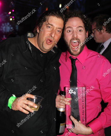 Director Drake Doremus (r) and Producer Jonathan Schwartz (l) Celebrate Their Winning the Grand Jury Prize For Dramatic Film For the Film 'Like Crazy' at the Awards Night at the 2011 Sundance Film Festival in Park City Utah Usa 29 January 2011 the Festival Has Been Running the Last 10 Days in Park City Utah United States Park City