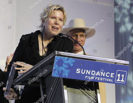 Us Director Cindy Meehl Accepts the Audience Award Documentary For the Film 'Buck' at the Awards Night at the 2011 Sundance Film Festival in Park City Utah Usa 29 January 2011 the Festival Has Been Running the Last 10 Day in Park City Utah United States Park City