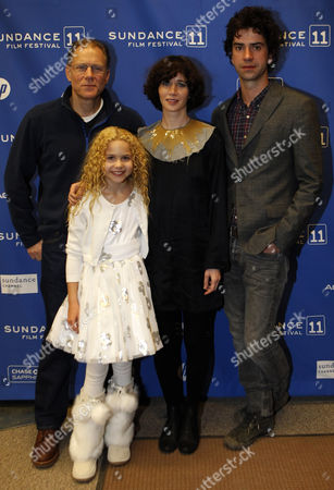 Actor David Warshofsky (l) Actress Isabella Acres (2nd L) Director/actress Miranda July (2nd R) and Actor Hamish Linklater (r) Arrive For the Premier of the German Movie 'The Future' During the 2011 Sundance Film Festival in Park City Utah Usa 21 January 2011 the Movie by German Director Miranda July is One of the Premier Movies at the Festival Running From 20 to 30 January United States Park City