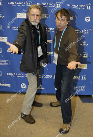 Mickey Hart (r) and Bob Weir (l) of the Grateful Dead Pose For a Picture Before the Premier of 'The Music Never Stopped' During the 2011 Sundance Film Festival in Park City Utah Usa 22 January 2011 the Movie by Director Jim Kohlberg is One of the Premier Movies at the Festival Running From 20 to 30 January United States Park City