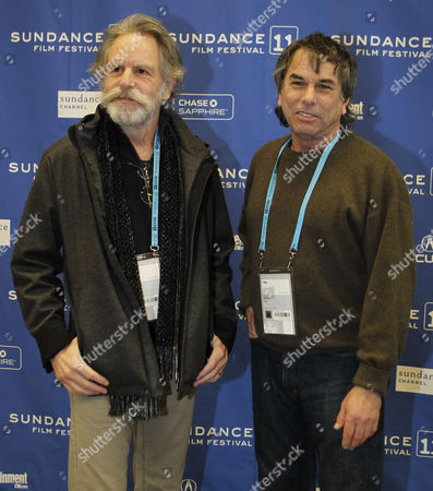 Mickey Hart (r) and Bob Weir (l) of the Grateful Dead Poses For a Picture Before the Premier of 'The Music Never Stopped' During the 2011 Sundance Film Festival in Park City Utah Usa 22 January 2011 the Movie by Director Jim Kohlberg is One of the Premier Movies at the Festival Running From 20 to 30 January United States Park City