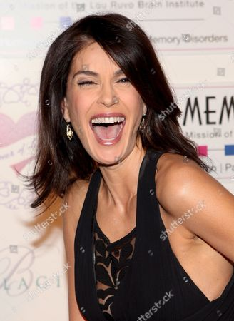 Stock Photo of Actress Terri Hatcher Arrives at a Benefit For the Cleveland Clinic Lou Ruvo Center For Brain Health at the Bellagio in Las Vegas Nevada Usa 28 February 2009
