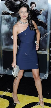 Stock Photo of Us Actress Tess Kartel Arrives For the Premier of the Film 'The Other Guys' in New York New York Usa on 02 August 2010 the Film Opens in the United States on 06 August 2010 United States New York