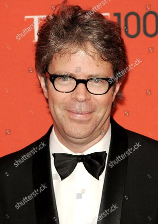 Writer Jonathan Franzen of the Us Arrives For the Time 100 Gala Celebrating the Magazine's List of 100 Most Influential People in New York New York Usa on 26 April 2011 United States New York