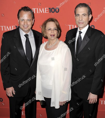 Mark Ford (l) President of Time Inc 'S News Group Ann S Moore (c) Chairman and Chief Executive Officer of Time Inc and Richard Stengel the Managing Editor of Time Magazine Arrive For the Time 100 Gala Celebrating the Magazine's Issue on the 100 Most Influential People in the World at the Frederick P Rose Hall in New York New York Usa on 04 May 2010 United States New York