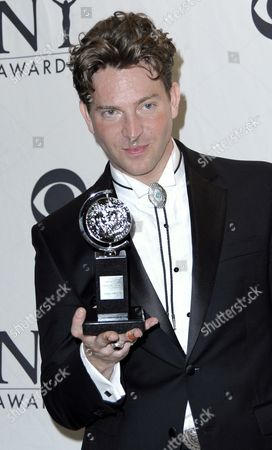Actor Levi Kreis of the Us Poses For Photographers After Winning the 2010 Tony Award For Best Performance by a Featured Actor in a Musical For His Work in 'Million Dollar Quartet' in the Press Room at the 2010 American Theater Wing's Tony Awards in New York New York Usa 13 June 2010 the Annual Awards Honor Excellence in Broadway Theatre United States New York