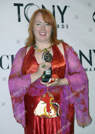 Stock Picture of Rae Smith Poses For Photographs After Winning the 2011 Tony Award For 'Best Scenic Design of a Play' For the 'War Horse' in the Press Room at the Beacon Theatre in New York New York Usa 12 June 2011 the Annual Awards Honor Excellence in Broadway Theatre United States New York