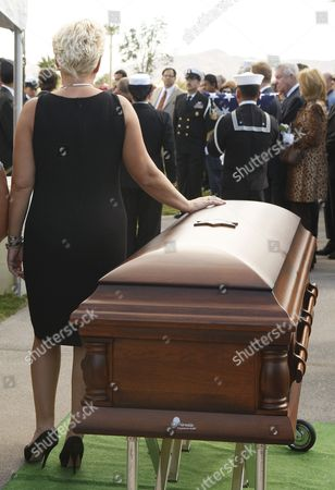 Editorial image of Usa Tony Curtis Funeral - Oct 2010
