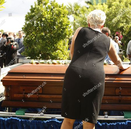 Editorial picture of Usa Tony Curtis Funeral - Oct 2010
